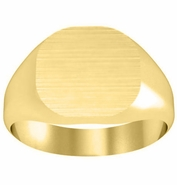 Traditional Plain Signet Ring