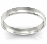 Traditional Wedding Ring Bevel 3mm