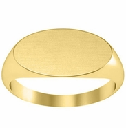 Wide Signet Ring