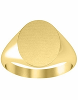 Womens Signet Ring 14kt Gold