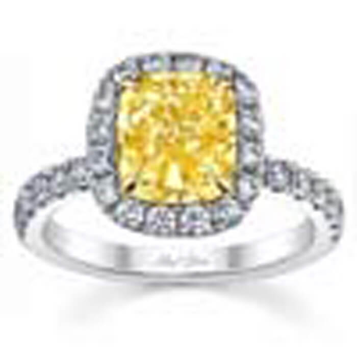 yellow antique engagement rings canary easy diamond wedding
