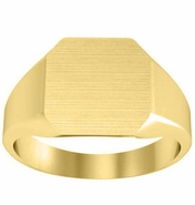 Yellow Gold Signet Ring