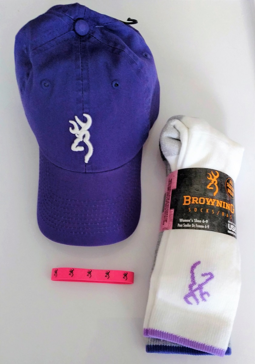 brand new c73d9 f7af2 ... coupon code for browning ladies hat socks purple 1b4fb 90d85