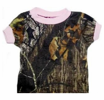 60fc3340 Mossy Oak Realtree Camo Camouflage T-shirt shirts Infant Baby ...