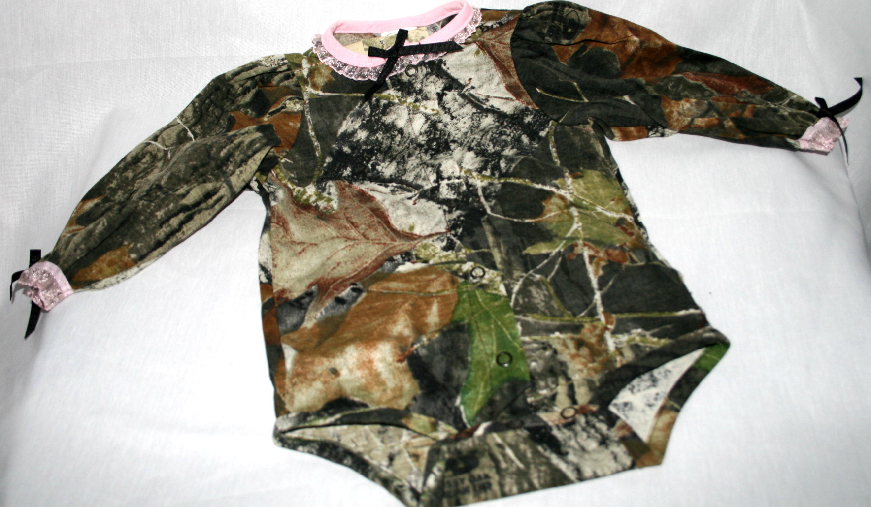 Mossy Oak Camo Amp Pink Baby Infant Clothes