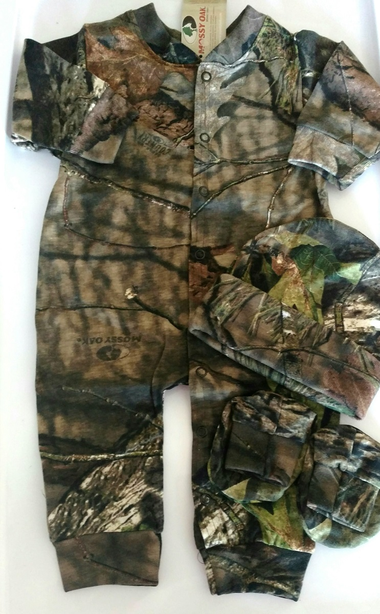 Mossy Oak Camouflage Baby Clothes