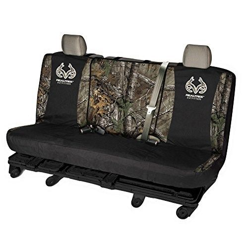 Realtree Camouflage Bench Seat Cover