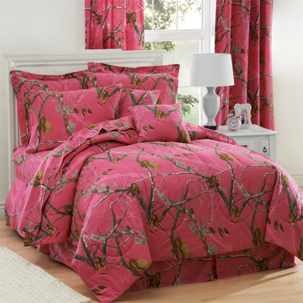 pink camo bedroom set realtree fuchsia pink camo comforter bedding 16727