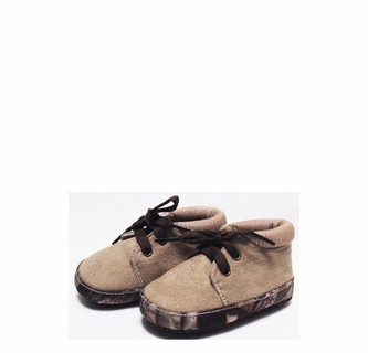 Team Realtree Baby Camouflage Boots Or Shoes