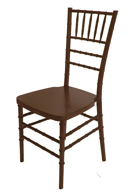 max walnut resin steel core chiavari chair