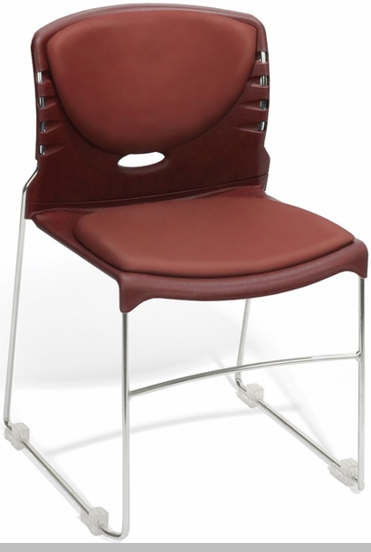 Multi Use Stack Chair With Anti Microbial And Anti