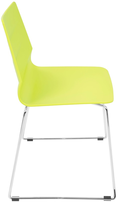 Arrow Contemporary 18 H Stackable Dining Chair   Lime Green   Set of 2   CH ARROW LG2 FS LUMI Contemporary 18 H Stackable Dining Chair   Lime Green   Set of 2  . Green Plastic Stack Chairs. Home Design Ideas