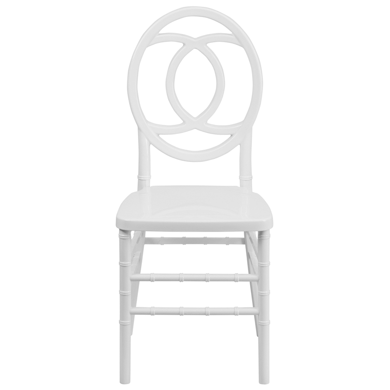 Hercules indestructo series white resin royal stacking chair with free cushion bh royal wh gg - White resin stacking chairs ...