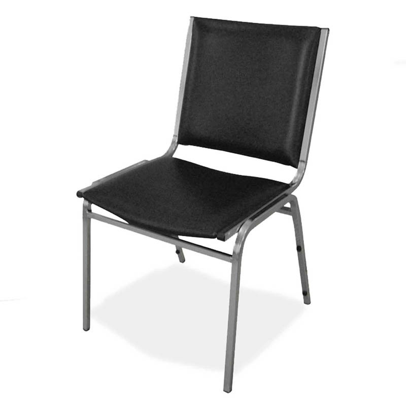 Black Stackable Chairs black padded stacking chairs. black vinyl padded stack chair