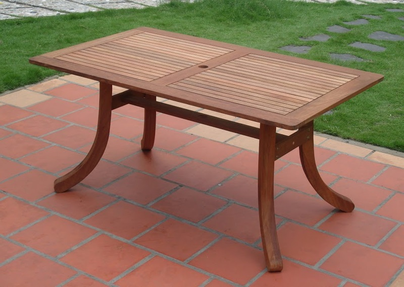 Malibu 5 piece outdoor dining set with saber leg table and for Html vertical table