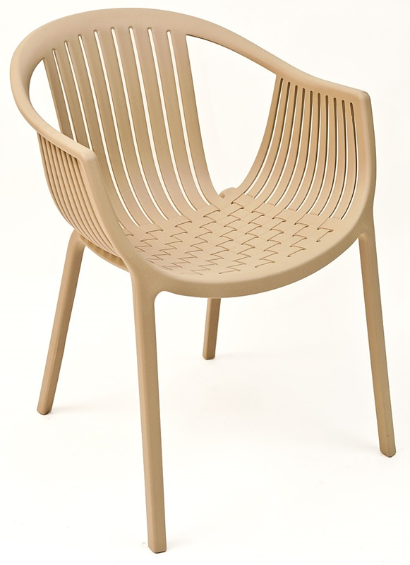 Charming Pedrali Tatami Stackable Cocoa Poly Outdoor Chair [TATAMI COCOA FLS]