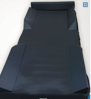Air Mattress Cover With Safety Perimeter
