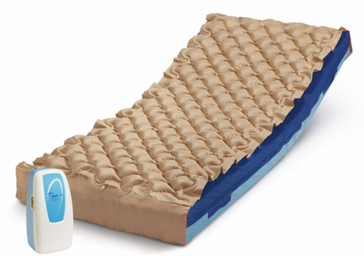 Alternating Pressure System with Gel mattress
