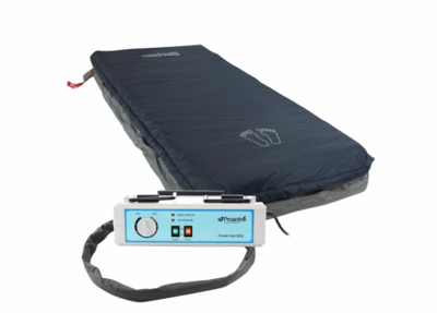 Alternating Pressure Mattress System with Low Air