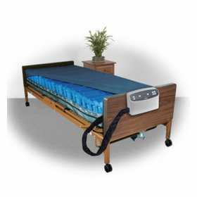 "Med  Plus 8"" Alternating Pressure and Low Air Loss Mattress System"