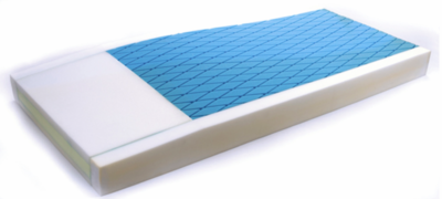 Pressure Redistribution Foam Mattress for Heels
