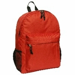 18 inch Backpack red color