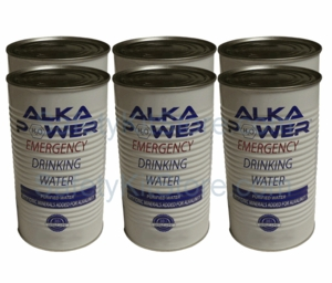 Canned Drinking Water - 8 cases