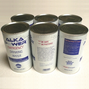 30 year Canned Drinking Water - 1 case