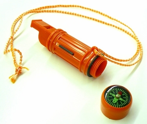 5 in 1 Survival Whistle - 48 pc bulk pack