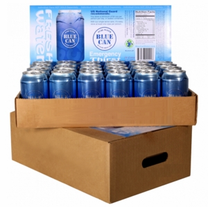50 year Shelf Life Canned Water - full pallet - 1 year supply