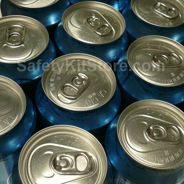 Canned Water For Emergency Preparedness
