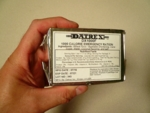 DATREX 1000 calorie Survival Food Bar - CASE of 76