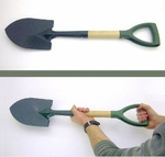 Emergency Shovel 27 inches - black