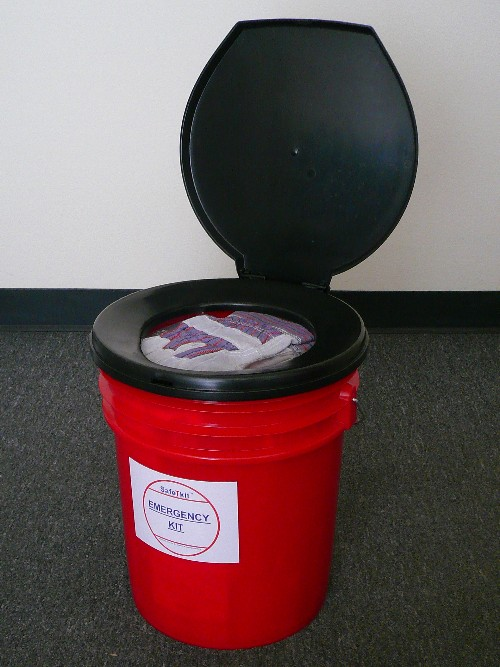 Emergency Toilet Kit With 72 Hour Supplies Toosl And More
