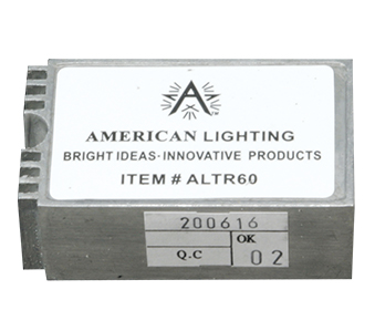american lighting remote mount electronic transformer altr60