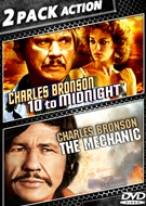 10 To Midnight & The Mechanic Double Feature DVD