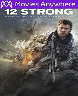 12 Strong HD UV or iTunes Code