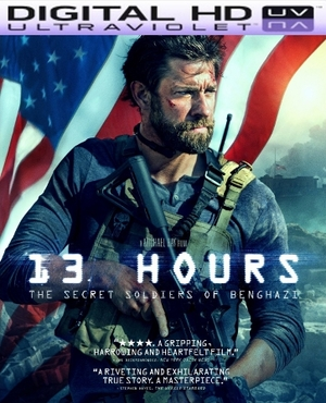 13 Hours: The Secret Soldiers of Benghazi HD Ultraviolet UV Code