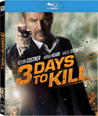 3 Days to Kill Blu-ray (USED)