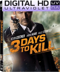 3 Days to Kill Digital HD UltraViolet UV Code