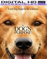 A Dog's Purpose HD Digital Ultraviolet UV Code