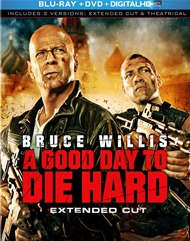 A Good Day To Die Hard Blu-ray + DVD + Digital Copy + UltraViolet