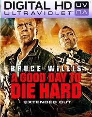 A Good Day To Die Hard Digital HD UltraViolet UV Code