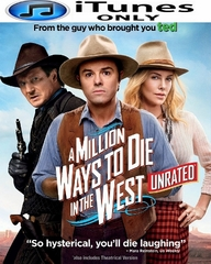 A Million Ways to Die in the West iTunes ONLY HD Digital Code