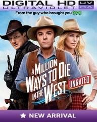 A Million Ways to Die in the West HD Digital Ultraviolet UV Code