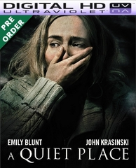 A Quiet Place HD UV VUDU Code (PRE-ORDER RELEASE DATE NOT YET ANNOUNCED WILL EMAIL ON OR BEFORE BLU-RAY RELEASE DATE)