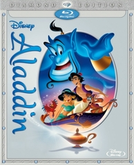 Aladdin: Diamond Edition Blu-ray Single Disc  (USED)