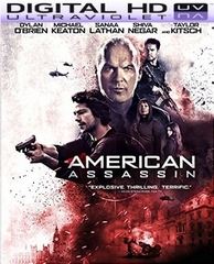 American Assassin HD Ultraviolet UV Code      (PRE-ORDER WILL EMAIL ON OR BEFORE 12-5-17 AT NIGHT)