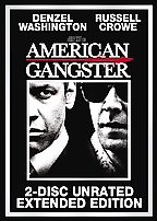 American Gangster  DVD 2 Disc Unrated Extended Edition