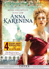 Anna Karenina DVD Movie